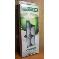 Свеча в гильзе белая 10шт/уп, цена за уп, 12гр, Chameleon, арт.С 00-12 (1/48)
