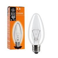 GE C1 (B) E27 60W свеча прозрачная (Белоруссия) 74399