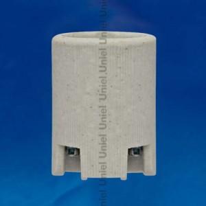 Uniel патрон керамический E14,  ULH-E14-Ceramic (1/400)