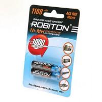 Аккумулятор Robiton /R03 1100mAh Ni-MH BL2
