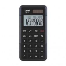 Uniel калькулятор UK-22 карманный, красный/черный