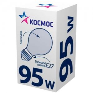 Космос A55 E27 95W ЛОН Матовая (1/100)