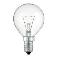 Лампа ДШ 40W E14 (уп.100шт.) шар прозрачный, цветная гофра Калашниково