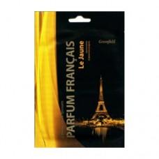 Greenfield Parfum Francais Ароматизатор-освежитель воздуха Le Janue, желтый, пакет, БХ-29