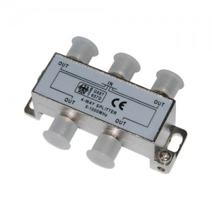 Разветвитель Rexant splitter на 4TV 5-1000 MHz  05-6003