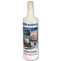 "Чистящая жидкость-спрей BRAUBERG ""Profi Clean"" 250 мл для LCD(ЖК)-мониторов 510120"