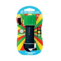 Ultraflash фонарь ручной LED15001-C (3xR03) 9св/д (40lm), зеленый+черный/пластик, BL (1/6/96)