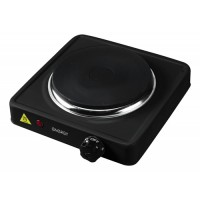 Электроплитка ENERGY EN-901B, 1 конфорка, диск, 1кВт, черная 158956