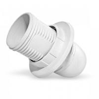 UNIVersal патрон E14 термопластик люстровый с кольцом белый 2А 250В 5560713