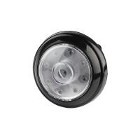 ЭРА фонарь кемпинговый L40 (3xR03) 9св/д черный/пластик, самокл. поверxность, 2 режима, поворот. BL