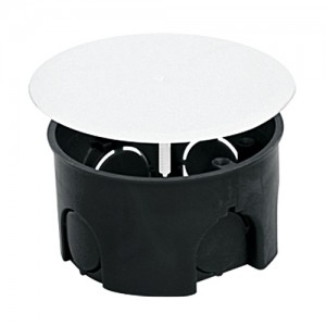 uplast коробка распред.  73х42мм СУ для твердых стен с крышкой 010-004