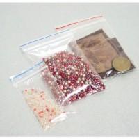 Пакет с защелкой (Гриппер) 10*15см, ПВД, 35мк, 100шт/уп, цена за шт, арт.EEZ007P, ADM