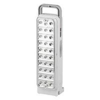 ТРОФИ фонарь кемпинговый TL30 (акк. 4V 1.5Ah) 30св/д, белый/пластик, 2 режима, ?·/у 220V (1/60)
