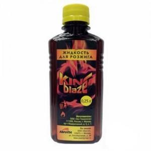 Жидкость д/розжига 0,25л King of Blaze