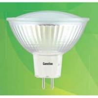 Camelion MR16 GU5.3 220V 3W(235lm 100°) 4500 4K матов. 50x50 стекло LED3-JCDR/845
