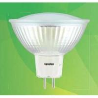 Camelion MR16 GU5.3 220V 3W(215lm 100°) 3000K 2K матов. 50x50 стекло LED3-JCDR/830 (1/10/100)