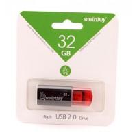 Флэш-диск USB 32Gb SmartBuy Click Black SB32GBCl-K