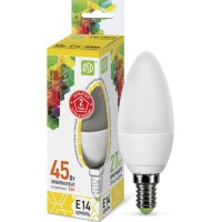 ASD Свеча C37 E14 5W(400lm) 3000К 2K пластик/алюм standard