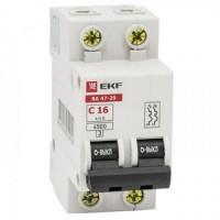 EKF Basic автоматический выкл. ВА 47-29, 2P 32А (C) 4,5кА  mcb4729-2-32C