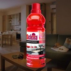Selena Средство д/мытья полов Цветочная свежесть антибакт. 1л, МО-44 (1/12)