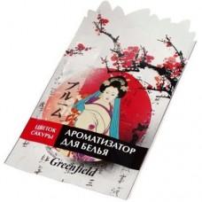 Greenfield Ароматизатор-освежитель д/белья Цветок сакуры, пакет, БХ-50