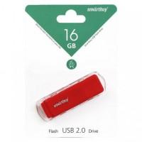 Флэш-диск USB 16GB Smartbuy Dock Red  (SB16GBDK-R) (1)