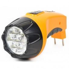 Garin фонарь универсальный Accu7 LUX (акк. 4V 800mAh) 7св/д, желтый/пластик