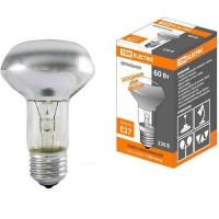 TDM лампа накал. R63 E27 60W зеркальная матовая SQ0332-0030