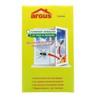 От мух Уголок оконный клеевой 2шт/уп, цена за уп ARGUS