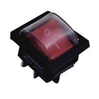 TDM выкл-кноп СУ для эл/прибор YL-208-01 10А перекл клав на 2 пол (2з) IP54 (цена за шт) SQ0703-0018 (1/5/500)