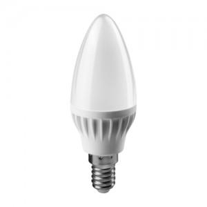 ОНЛАЙТ свеча C37 E14 6W(450Lm) 2700K 2K 104x37 ОLL-C37-6-230-2.7K-E14-FR 71628 (10)