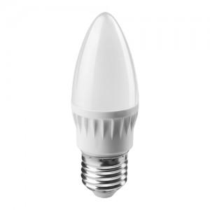 ОНЛАЙТ свеча C37 E27 6W(450Lm) 2700K 2K 103x37 ОLL-C37-6-230-2.7K-E27-FR 71630 (1/10/100)
