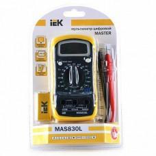IEK Мультиметр цифровой  Master MAS830L TMD-3L-830