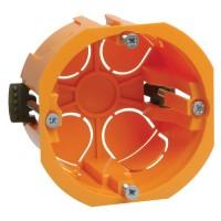 IEK коробка уст. 65х46мм СУ для полых стен с саморезами и пласт. лапк. КМ40022 UKG10-065-040-000-P
