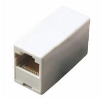 Компьютерный переходник (гнездо-гнездо) 8p8c (RJ45) (проходник) Rexant
