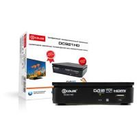 TV-тюнер (ресивер) D-COLOR DC921HD,DVB-T2,Full HD,RCA,USB,HDMI,3RCA-3RCA в комплекте