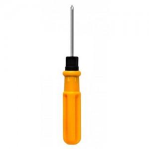 ЕРМАК Отвертка 2 в 1 желтая ручка (+) (-) 3х50 651-961