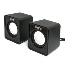 Dialog Акустические колонки AC-02UP black Colibri 6W RMS - 2.0, черные, питание от USB