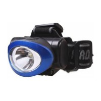 Smartbuy фонарь налобный SBF-HL017-B (3xR03) 1св/д 1W (50lm), син/пласт+мет, 3 режима, BL1