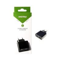 СЗУ SmartBuy NOVA, 3А, 2 USB, черное (SBP-6000)