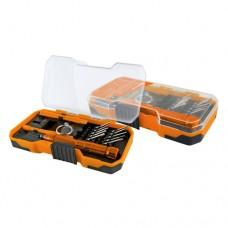 TDM Алмаз набор отв. с битами для ремонта сот. телефонов 15 предм. пласт.чемодан SQ1019-0201