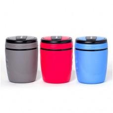 Ланч бокс MasterHouse Неаполь пластик, широк. горло, 1,2л, контейнер+ложка, красный ЛБ-1.2 (1/12)