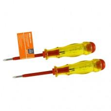 TDM отвертка-пробник (-) (+) (индикатор) с комбинированным жалом 160мм, 100-500В SQ1015-0003
