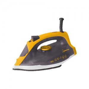 Утюг HomeStar HS-4005, 1,8кВт, подошва керам., желт-серый 2677 (1/12)