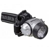 Smartbuy фонарь налобный SBF-HL006-K (3xR03) 21св/д (32lm), черный/пластик+металл,4 режима