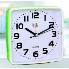 Часы-будильник IRIT IR-607, 12*4*12см, пластик (AA*1шт нет в компл.) (1/100)