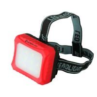 Ultraflash фонарь налобный LED5373 (3xR6) 12св/д SMD красный/пластик, BL