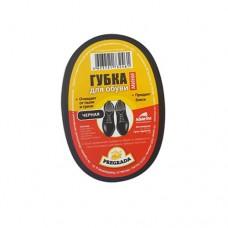 Губка д/обуви МИНИ черная PREGRADA/PR-461 (1/84)