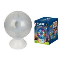 Светильник-проектор шар 3D Volpe ULI-Q307, RGB, Звездочки, d=15см, 4,5W/220V