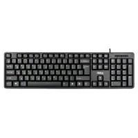 Клавиатура проводная Standart KS-030U Black, USB, черная, 107 клавиш